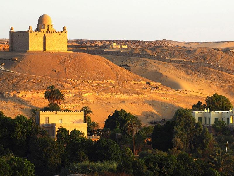 Egyptian Tourism Authority Mausoleum Of The Aga Khan